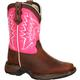 LIL' DURANGO® Little Kid Let Love Fly Western Boot, , small