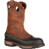 Georgia Boot Muddog Steel Toe Waterproof Wellington, , medium
