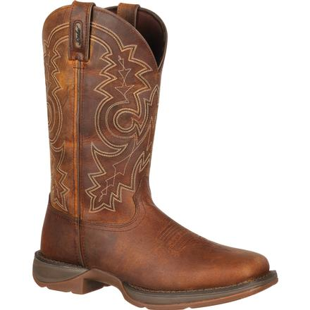 Rebel by Durango Pull-On Western Boot, , large