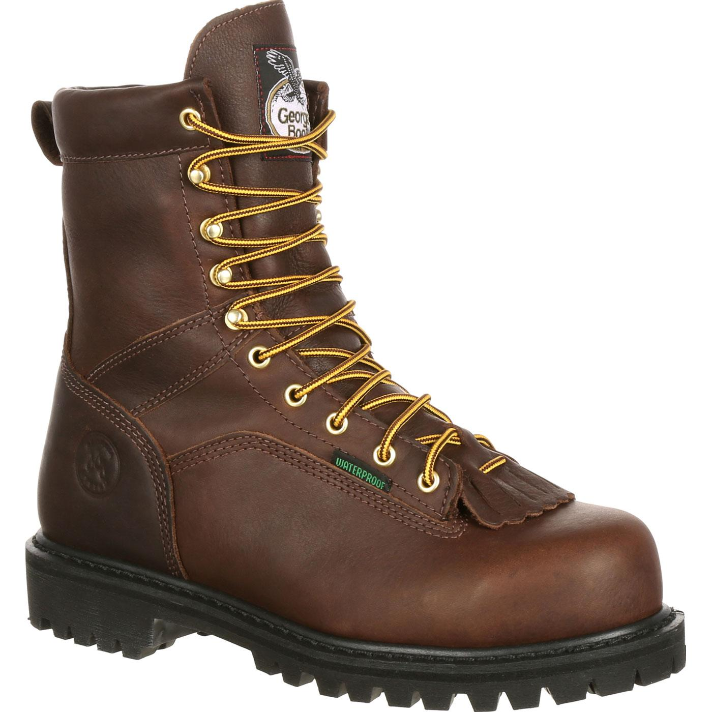 25a6f207905 Georgia Boot Lace-to-Toe Waterproof Work Boot