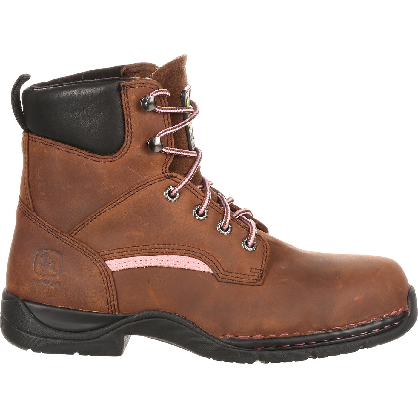 s lace up metatarsal work boot deere