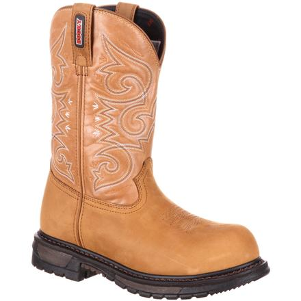 Rocky Original Ride Women's Composite Toe Waterproof Western Boot, , large