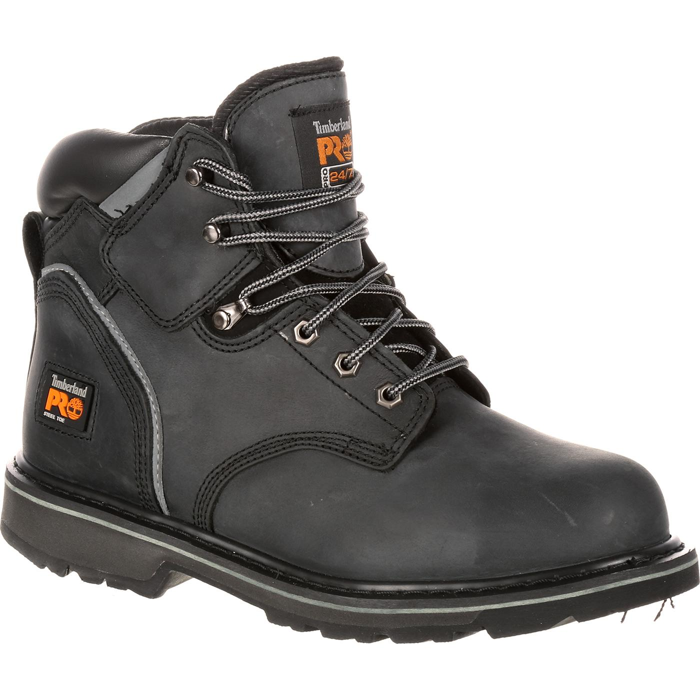 hot-selling real great discount temperament shoes Timberland PRO Pit Boss Steel Toe Work Boot