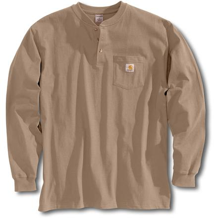 Carhartt Long Sleeve Workwear Henley, , large