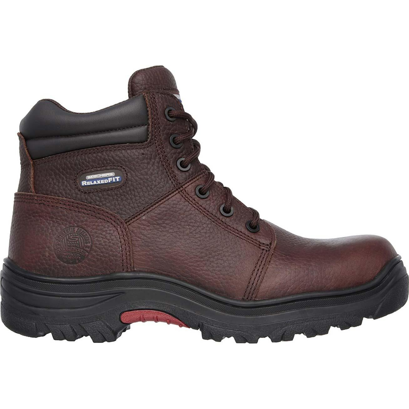 SKECHERS Work Relaxed Fit Burgin Composite Toe Puncture-Resistant ... eb7c0b27a596