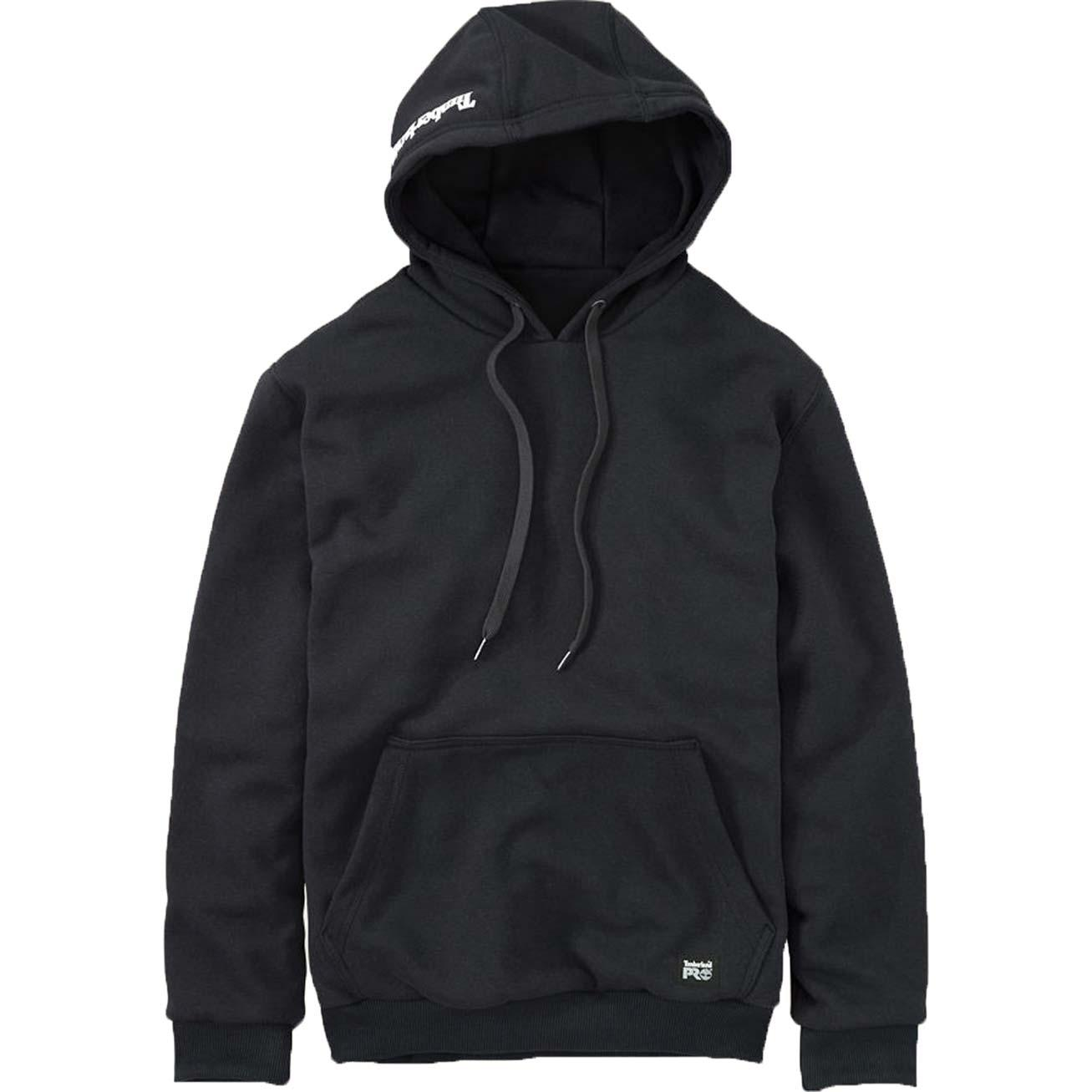 Timberland PRO Double-Duty Hooded Pullover, BLACK, large