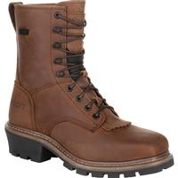 Rocky Square Toe Logger Composite Toe Waterproof Work Boot, , medium
