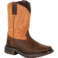 Rocky Big Kids' Ride FLX Western Boot, , medium