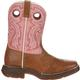 Lil' Durango Little Kid Tan Lacey Western Boot, , small
