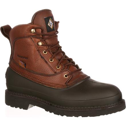 Lehigh Safety Shoes Swampers Unisex 6 inch Steel Toe Waterproof Work Boot