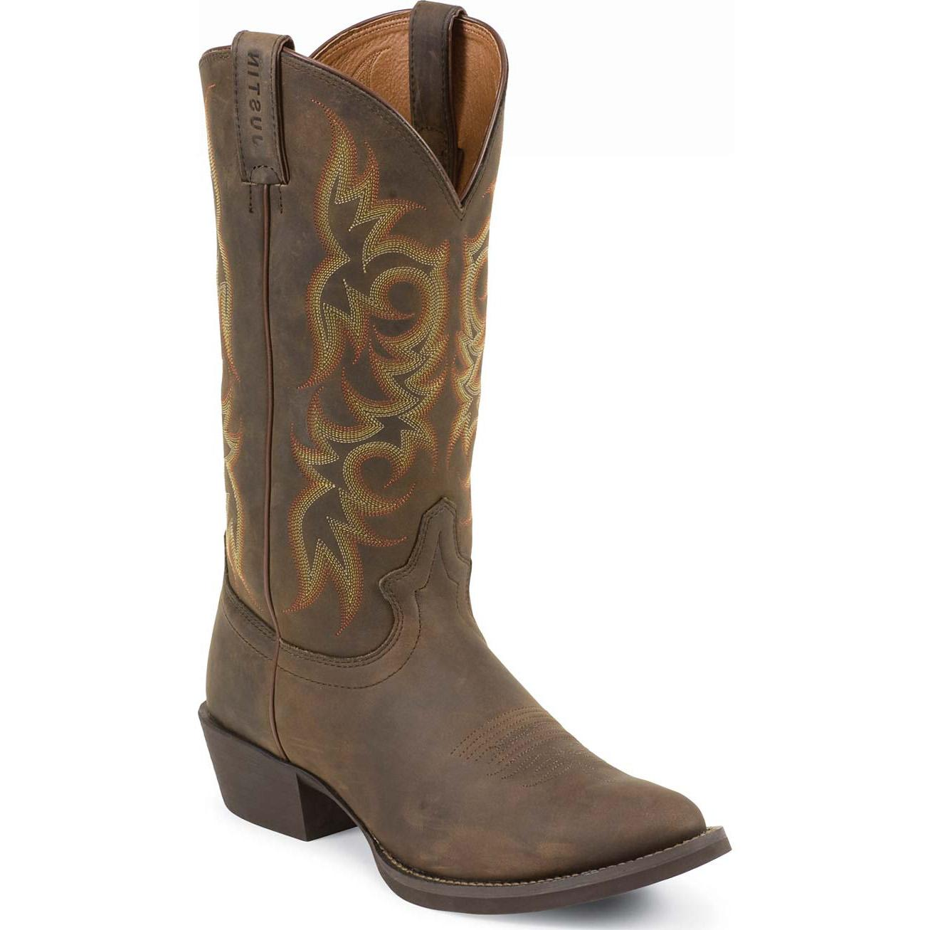 Justin Stampede Western Boot Jws2551