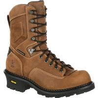 Georgia Boot Comfort Core Composite Toe Waterproof Insulated Logger Work Boot, , medium