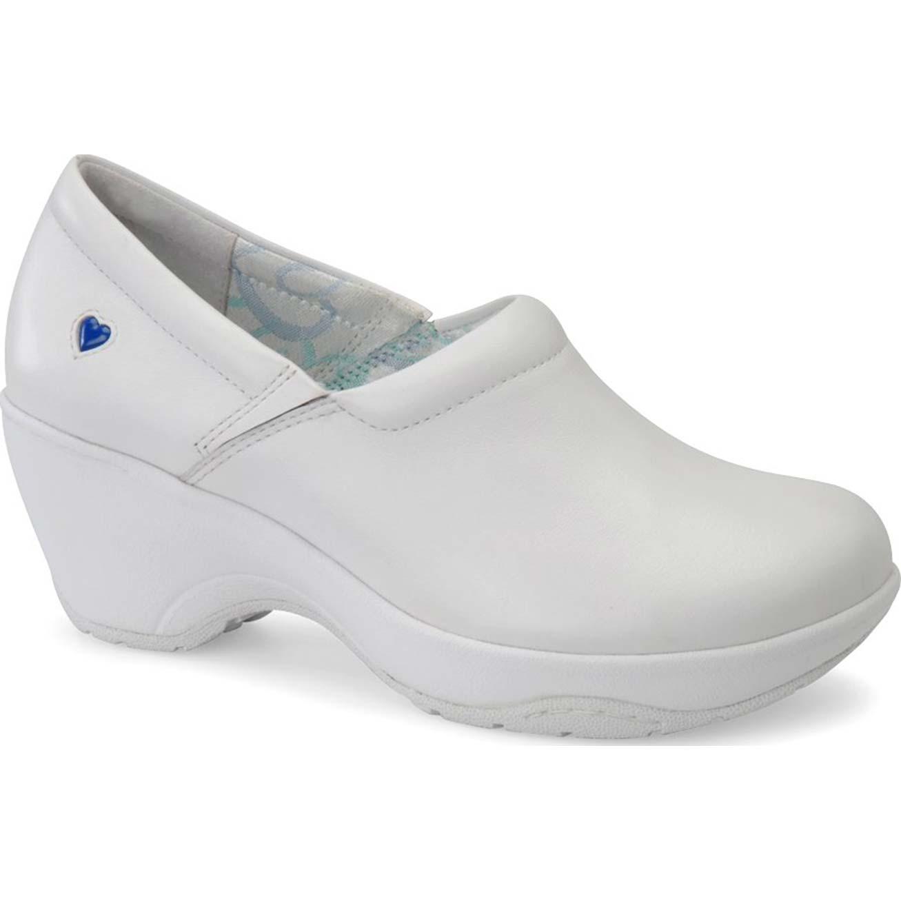 White Clog Nursing Shoes