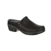 4Eursole Comfort 4Ever Women's Black Moc-Toe Slide, , medium