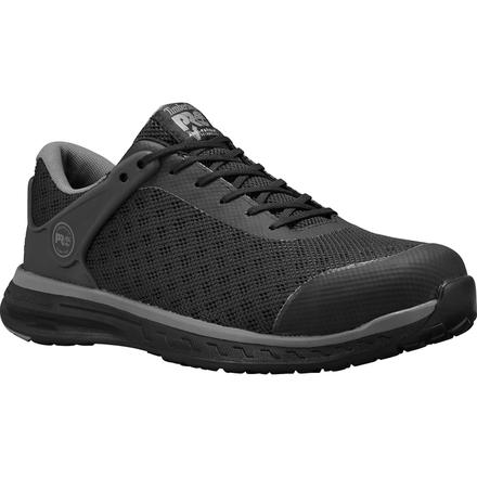 Timberland PRO Drivetrain Men's Composite Toe Electrical Hazard Black Athletic Work Shoe, , large