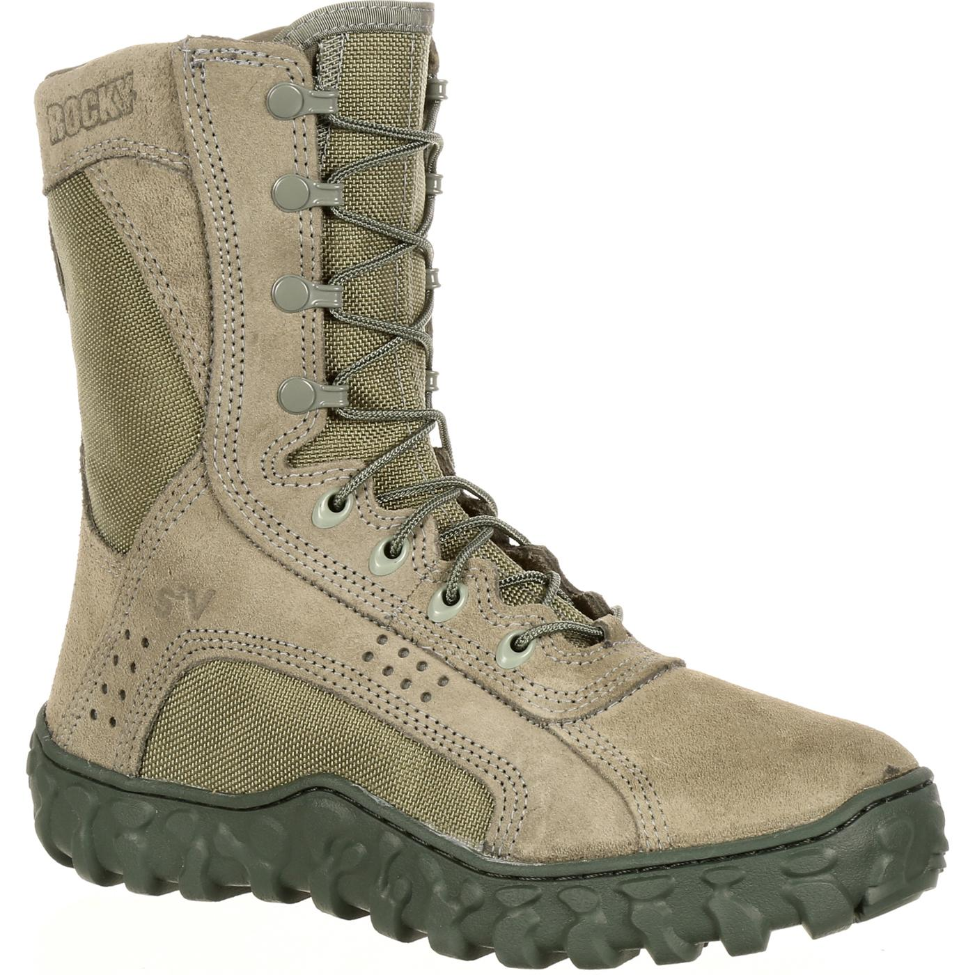 Sage Green Rocky S2v Military Boot Fq0000103