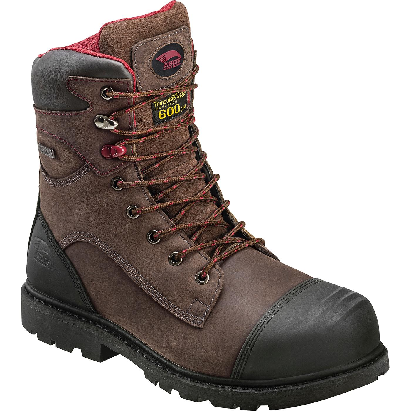 e1de3127981 Avenger Carbon Fiber Toe Puncture-Resistant Waterproof 600g Insulated Work  Boot