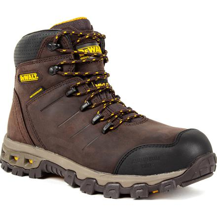 DEWALT® Farnham Men's 6 inch Aluminum Toe Electrical Hazard Waterproof Work Hikers