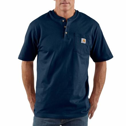 Carhartt Short-Sleeve Workwear Henley, , large