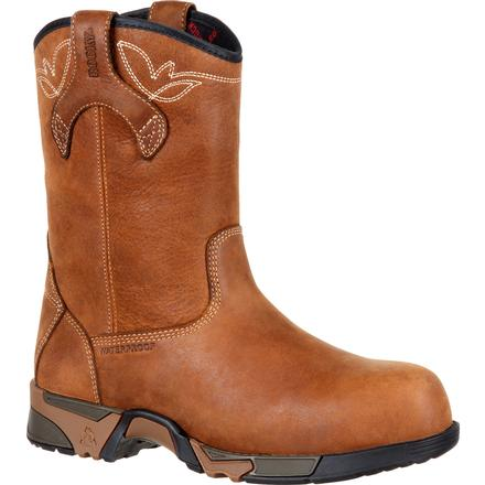 Rocky Aztec Women's Composite Toe Waterproof Work Pull-on Boot