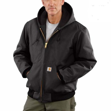 Carhartt Duck Active Quilted Flannel-Lined Jacket, , large