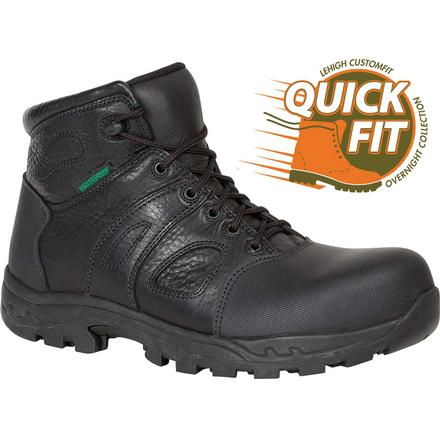 QUICKFIT Collection: Lehigh Safety Shoes Unisex Composite Toe Waterproof Work Boot, , large
