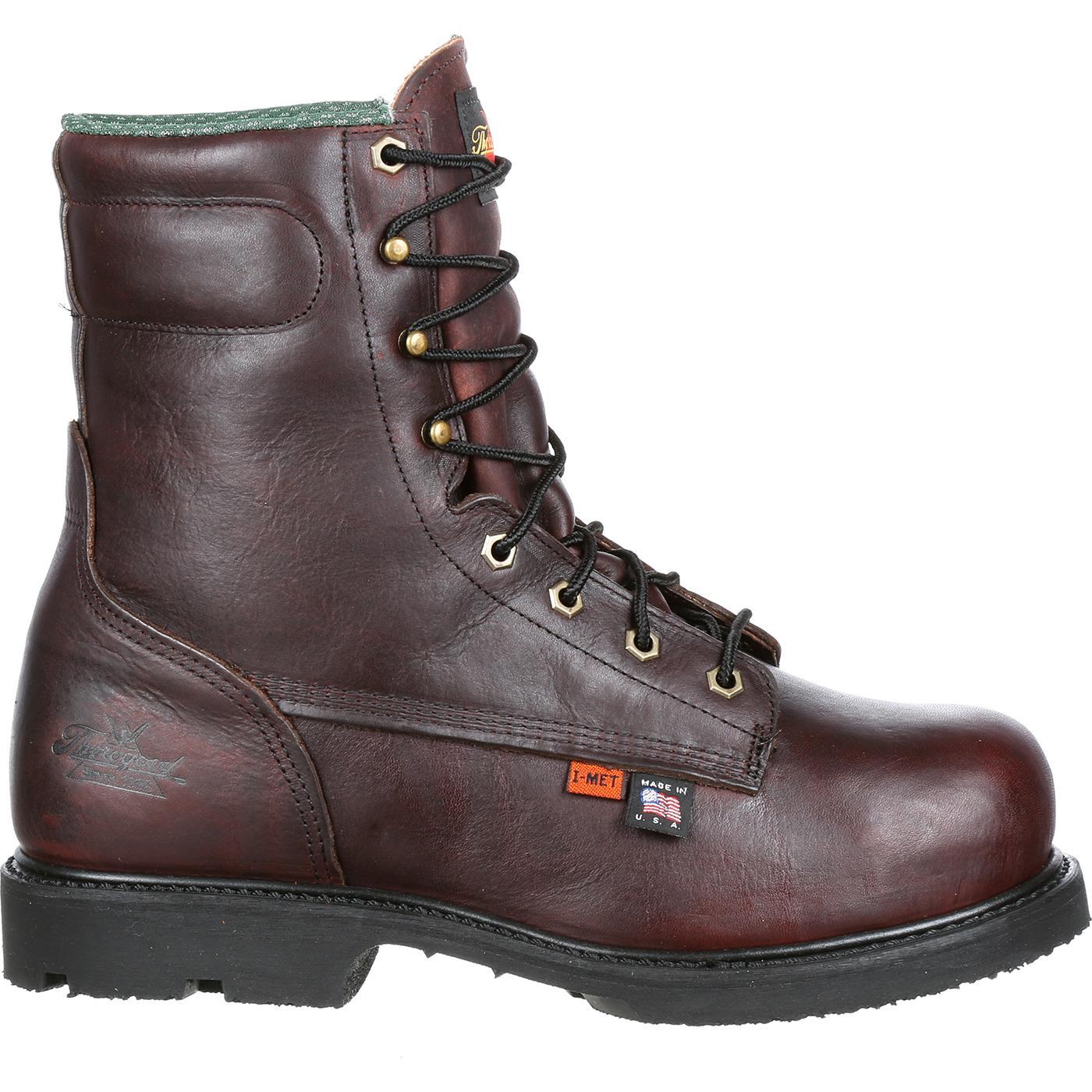 b6e62abd1b6 Thorogood I-MET2 Steel Toe Internal Metatarsal Guard Work Boot