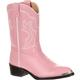 Durango Little Kids' Pink Western Boot, , small