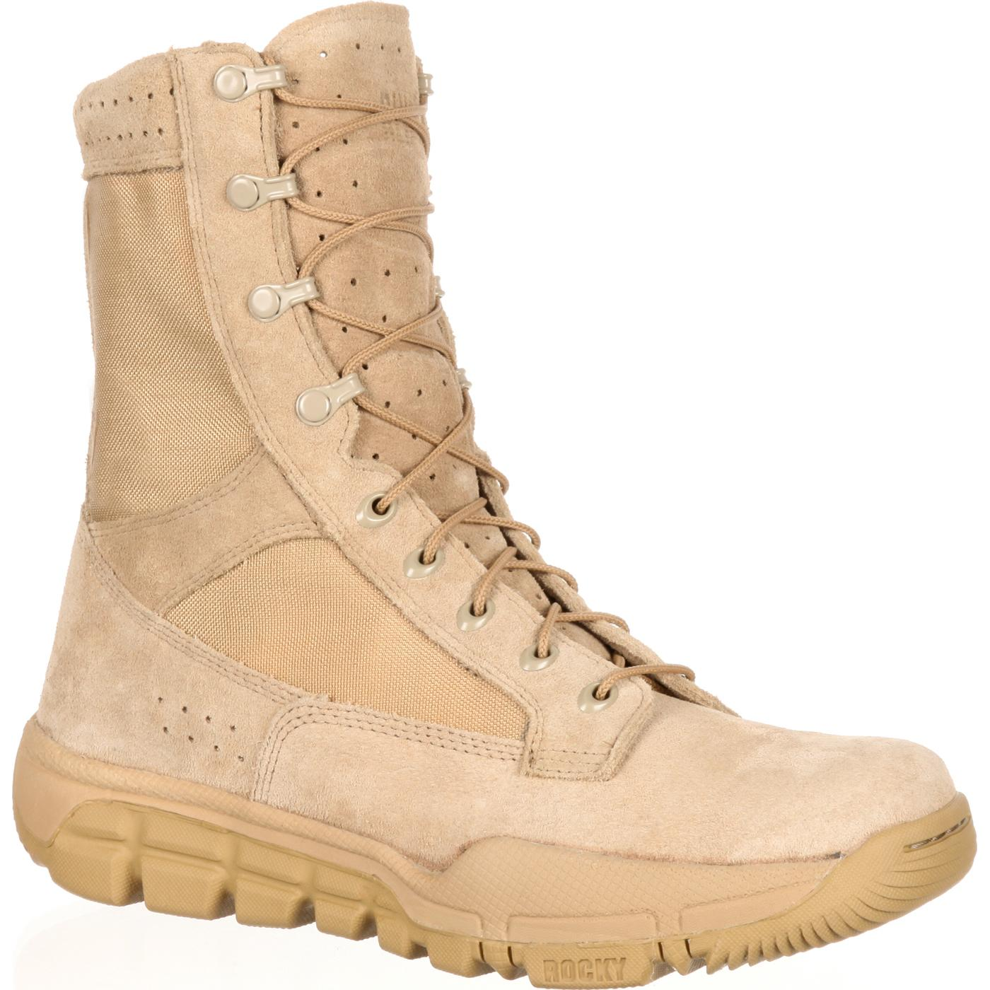 Lightweight Commercial Military Boot from Rocky f335b14b7