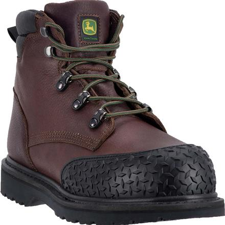 John Deere Steel Toe Lace-Up Work Boot, , large
