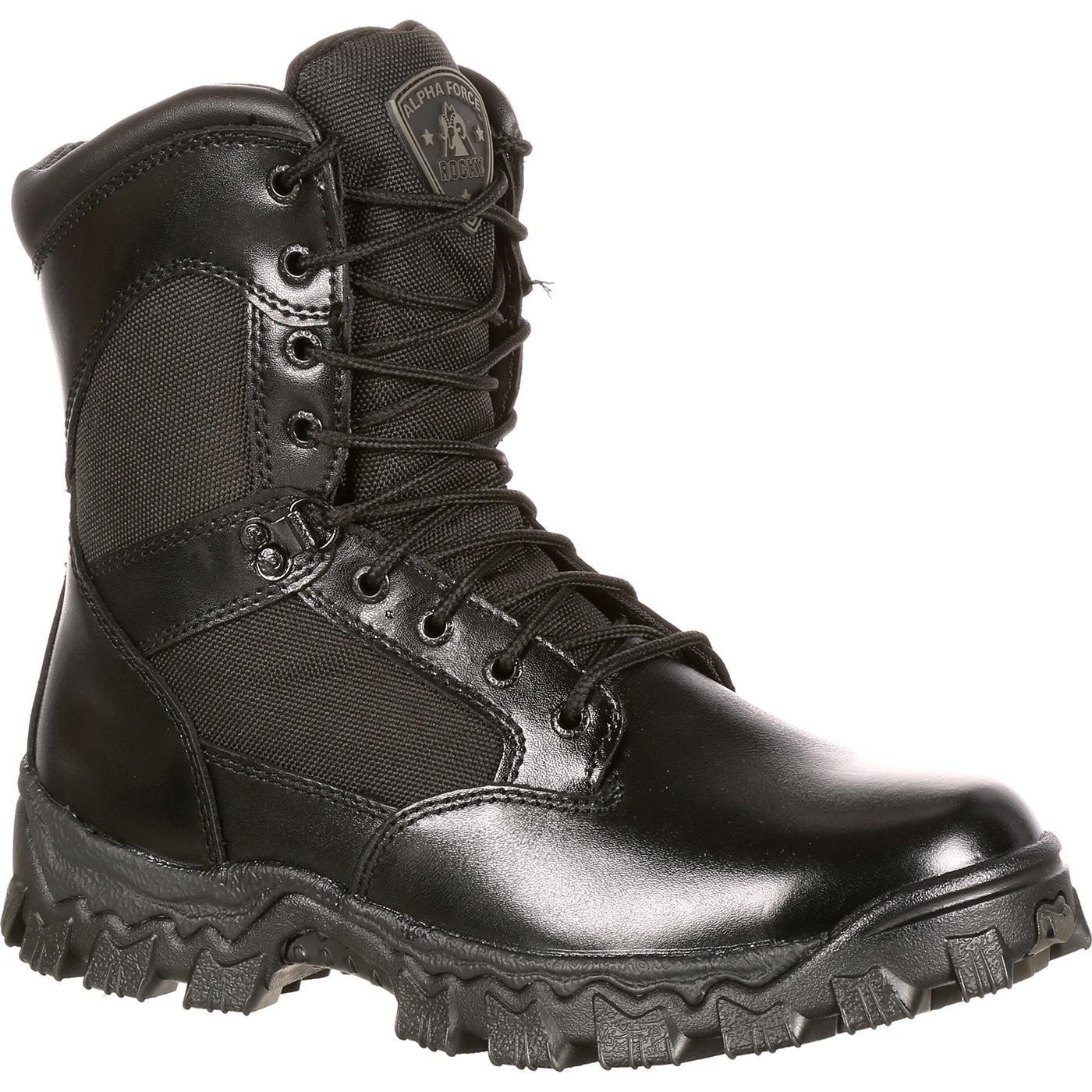 77956be1f1b Rocky AlphaForce Waterproof Duty Boot