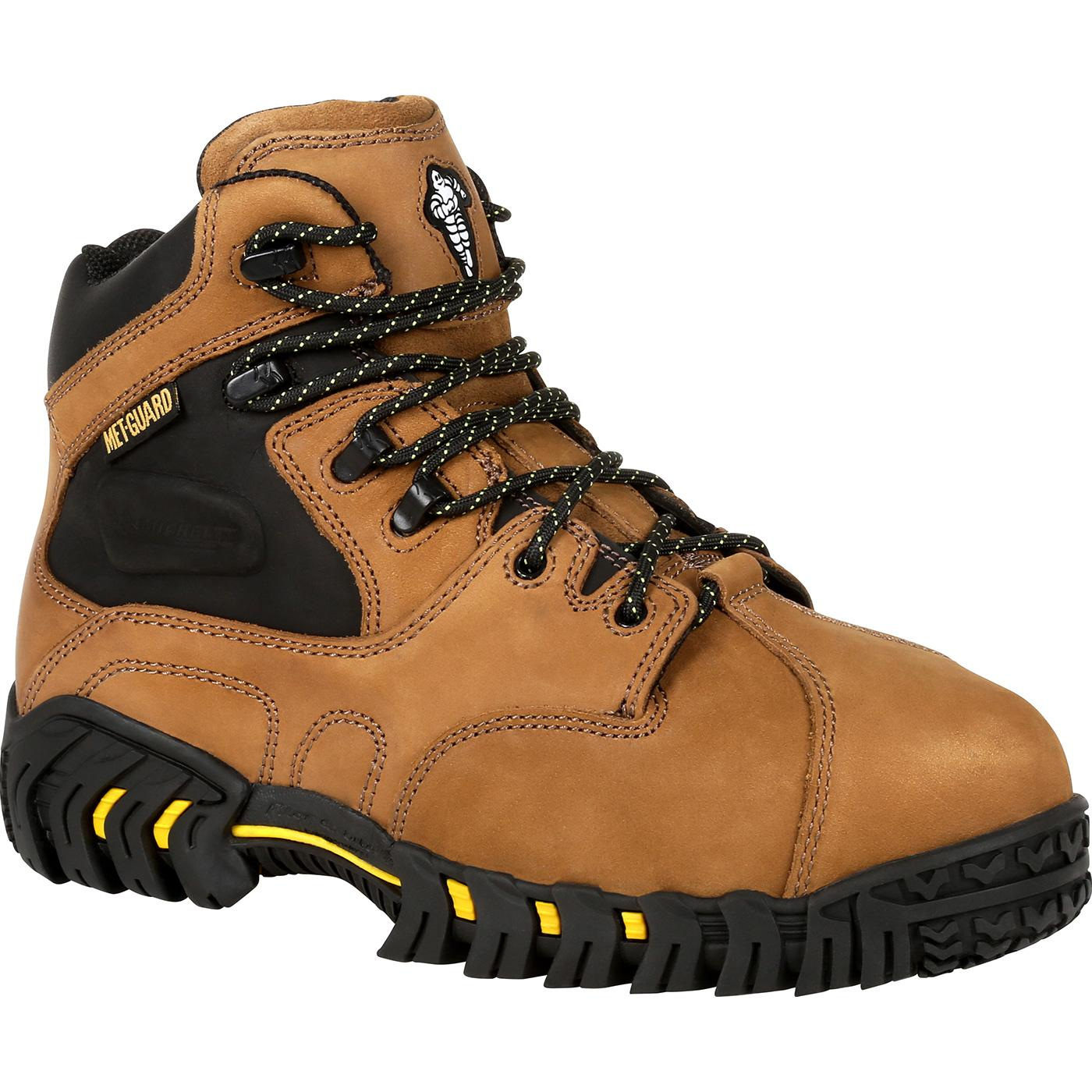 2af19dcfdef Michelin® Steel Toe Internal Met Guard Work Boot