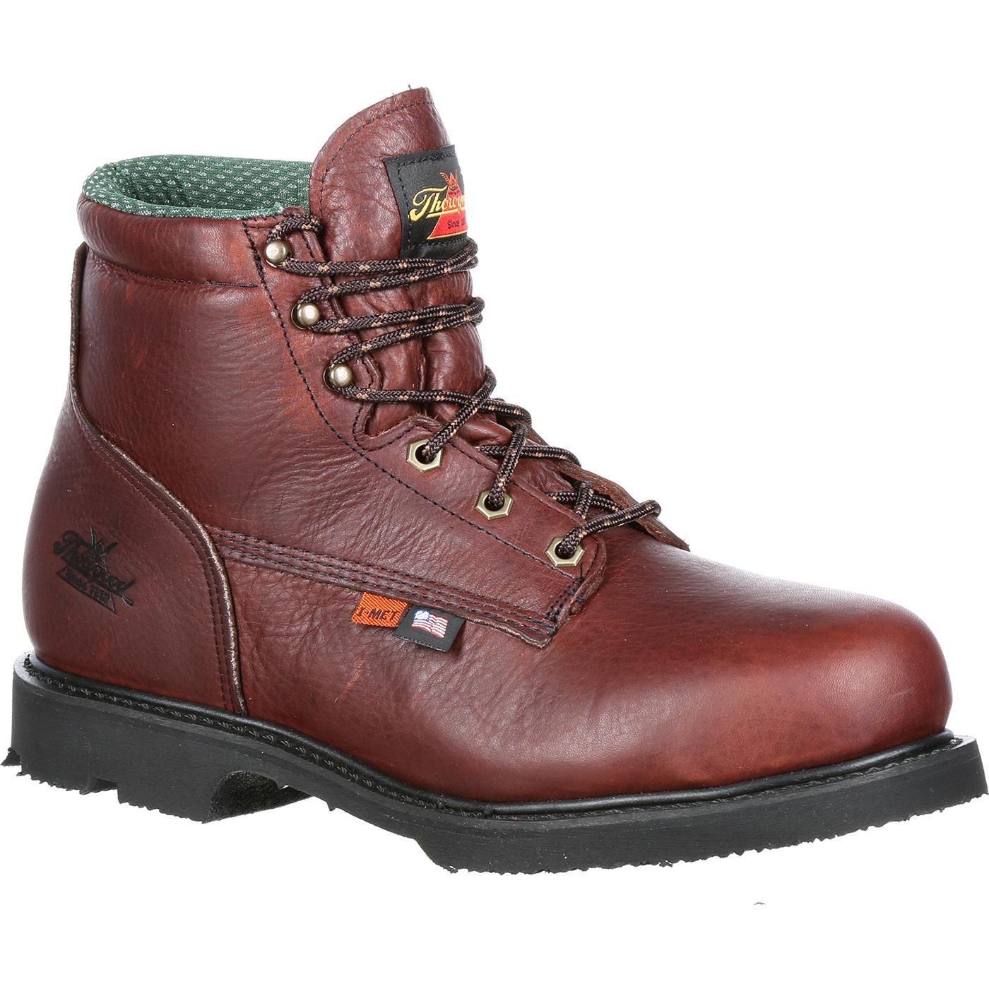 457c1a17f89 Thorogood Unisex Steel Toe Internal Met Guard Work Boot