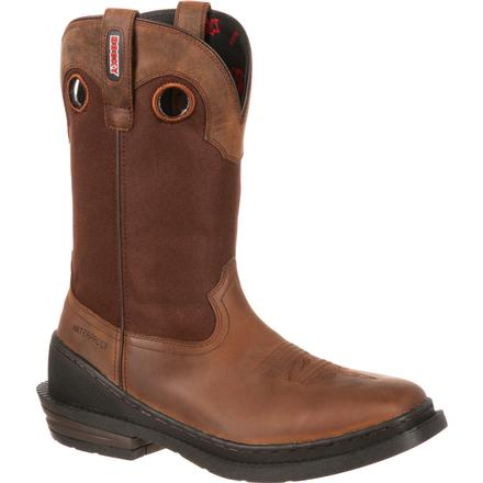 Rocky OutRidge One-Ton Steel Toe Waterproof Western Boot, , large