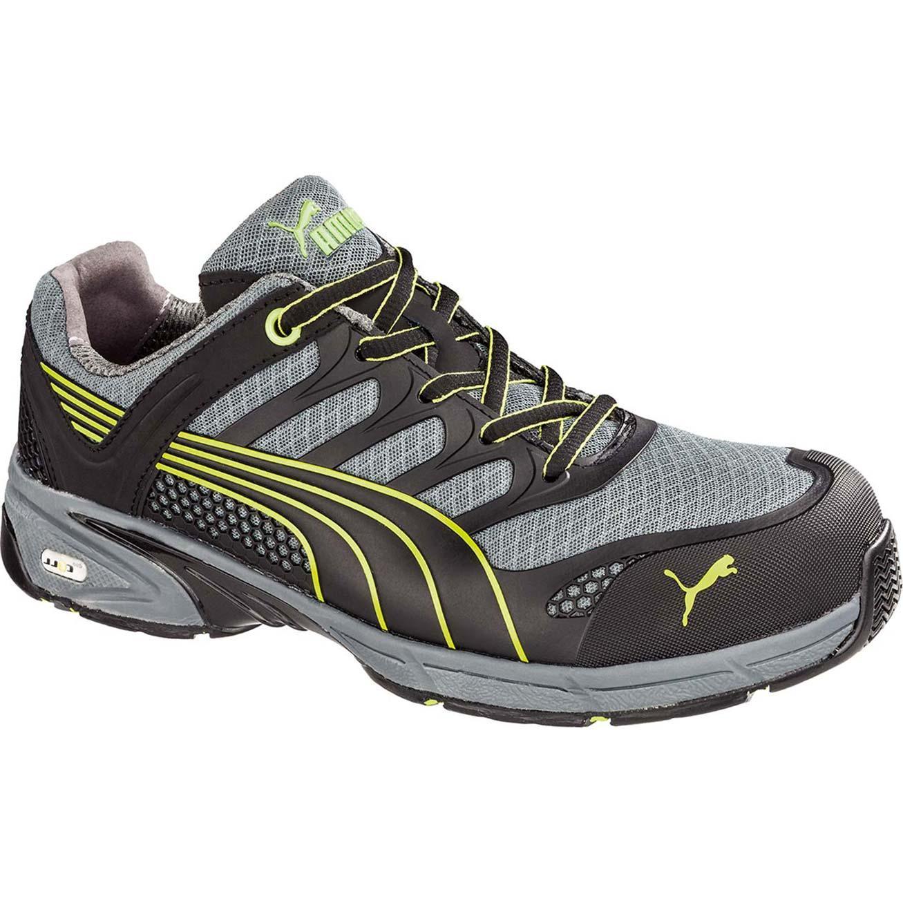 14430b5ee56e28 Puma Fuse Motion Green Composite Toe Static-Dissipative Shoe