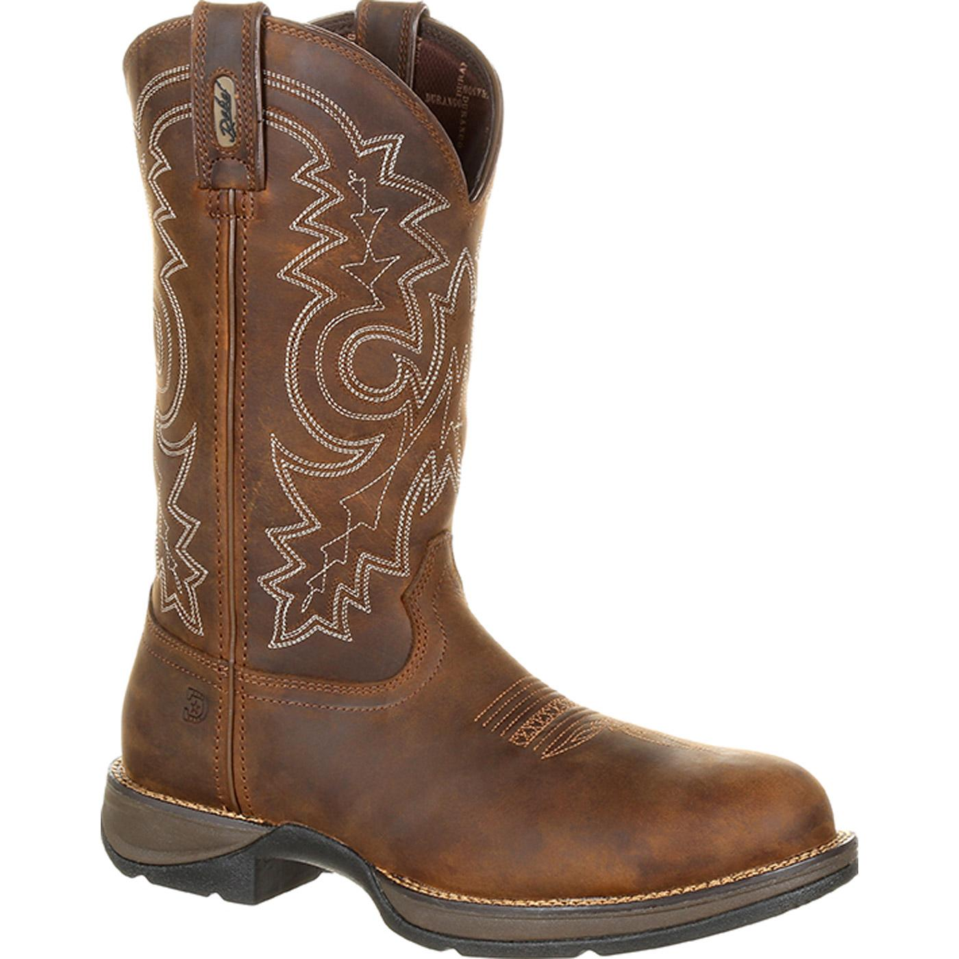 5baa490670e Rebel by Durango Steel Toe Waterproof Western Work Boot