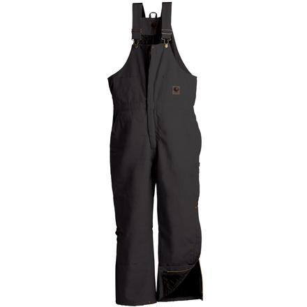 Berne Black Deluxe Insulated Bib Overall, , large