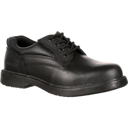 Genuine Grip Steel Toe Slip-Resistant Oxford, , large