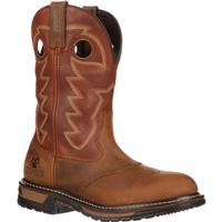Rocky Original Ride Branson Saddle Roper Western Boot, , medium