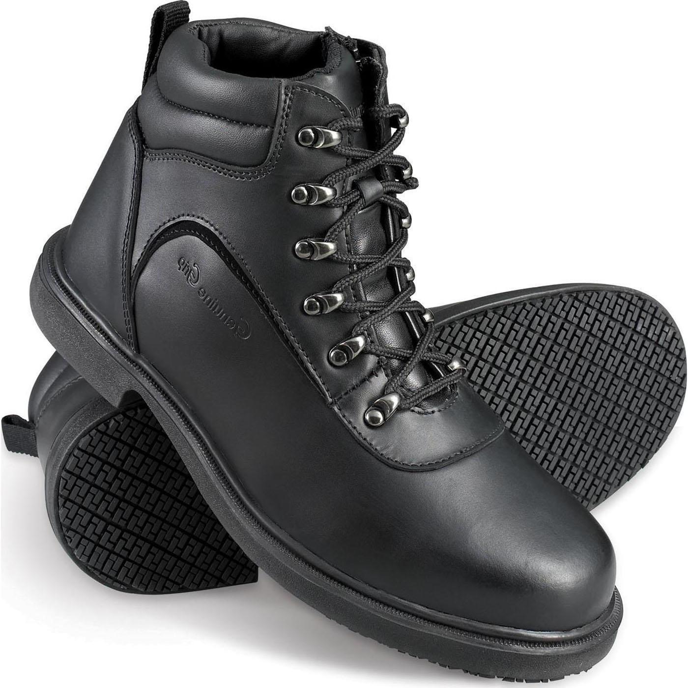 Genuine Grip Slip-Resistant Steel Toe Hiking Boot, , large