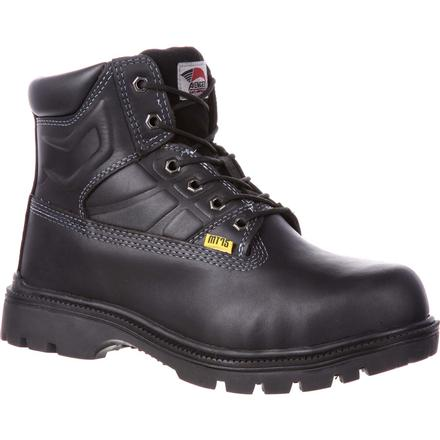 Avenger Steel Toe Internal Met Guard Work Boot, , large