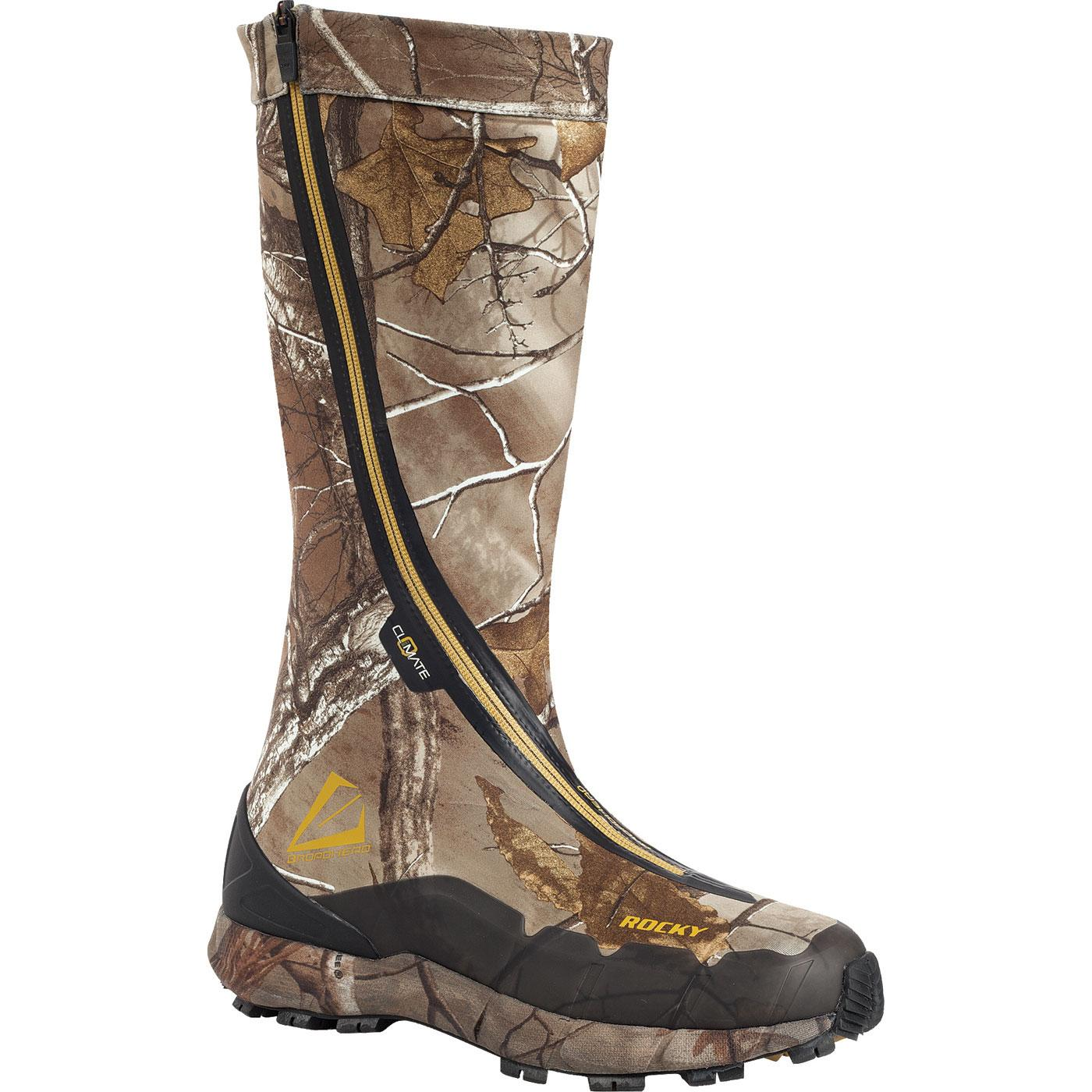 a065de51d76 Rocky Broadhead Hidden Laces Waterproof Boot