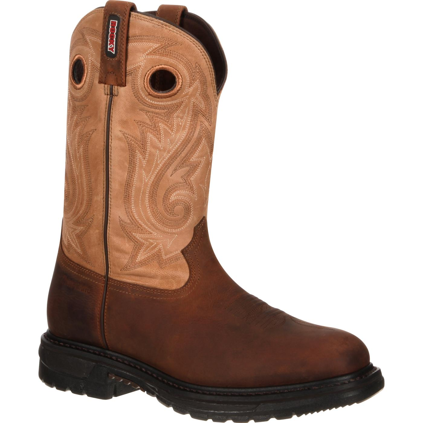 Composite Toe Waterproof Insulated Western Work Boot Rocky
