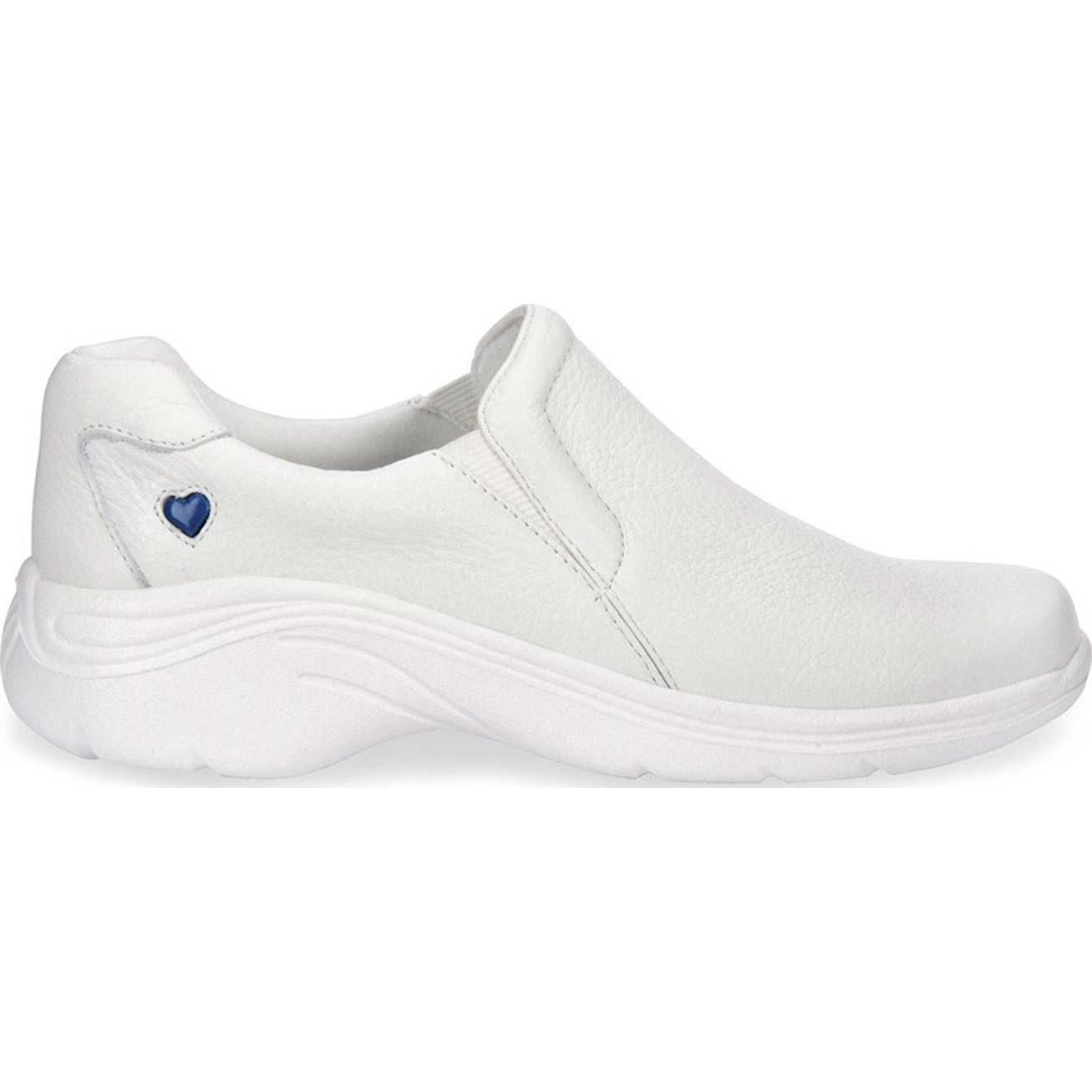Nurse Mates Dove White Shoe   Wide