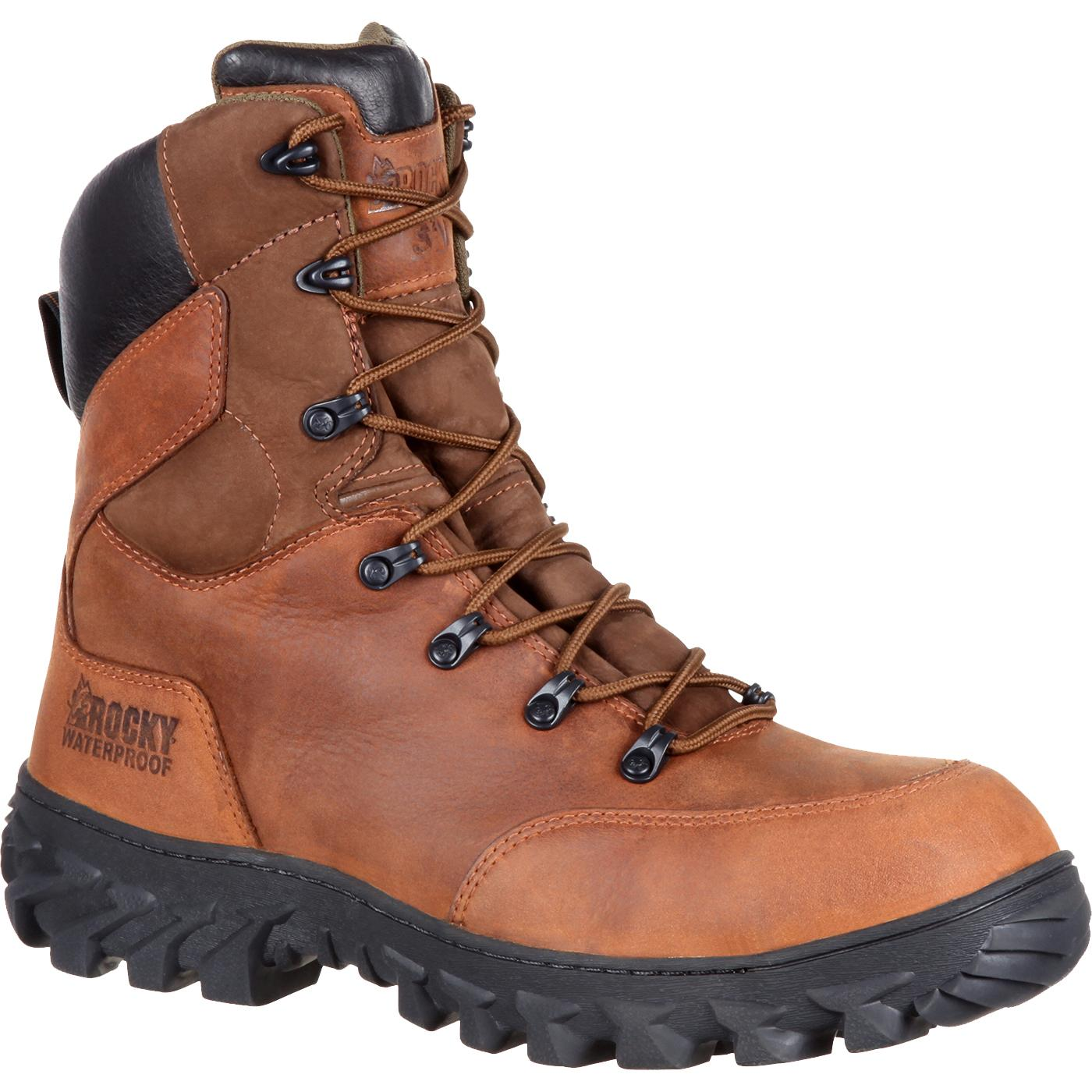 perfect quality 2018 shoes stylish design Rocky S2V Composite Toe Waterproof 200G Insulated Work Boot