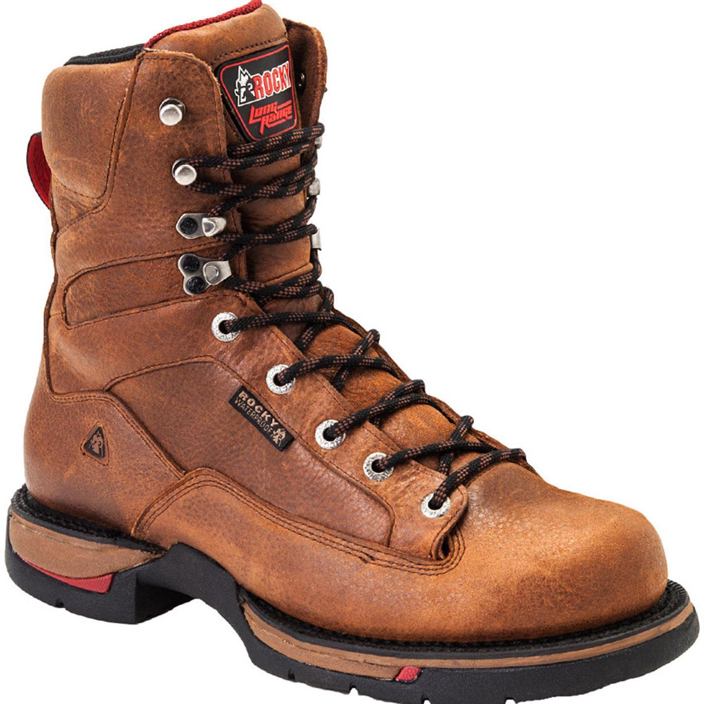 47db1ddb5ff Rocky Long Range Aluminum Toe Waterproof Work Boot