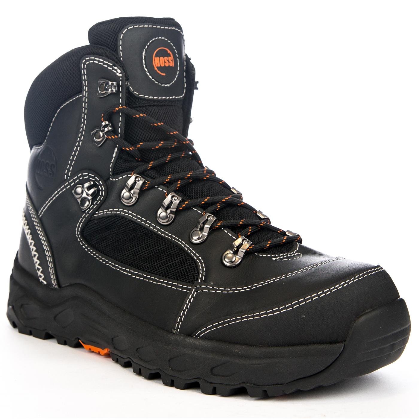a92b24b8e14 HOSS Blocker Men's 6 inch Aluminum Toe Electrical Hazard Waterproof Work  Hiker