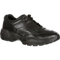 Rocky 911 Athletic Oxford Duty Shoes, BLACK, medium