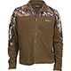 Rocky SilentHunter Fleece Jacket, Mossy Oak Country, small