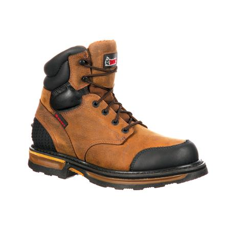 Rocky Elements Wood Soft Toe Puncture-Resistant Work Boot, , large